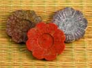 Rökelsehållare blomma i sten