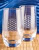 Kristallvattenglas, 2 st