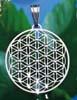 Livets blomma med klara Swarovskikristaller