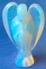 Kristallängel, opalglas