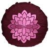 Meditationskudde Lotus mindre, 23x8 cm