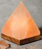 Saltkristallampa Pyramid