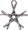 Pentagram av magiska stavar